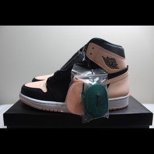 39575e87a62 Jordan Shoes | Nike Air 1 Retro High Og Black Crimson Tint | Poshmark